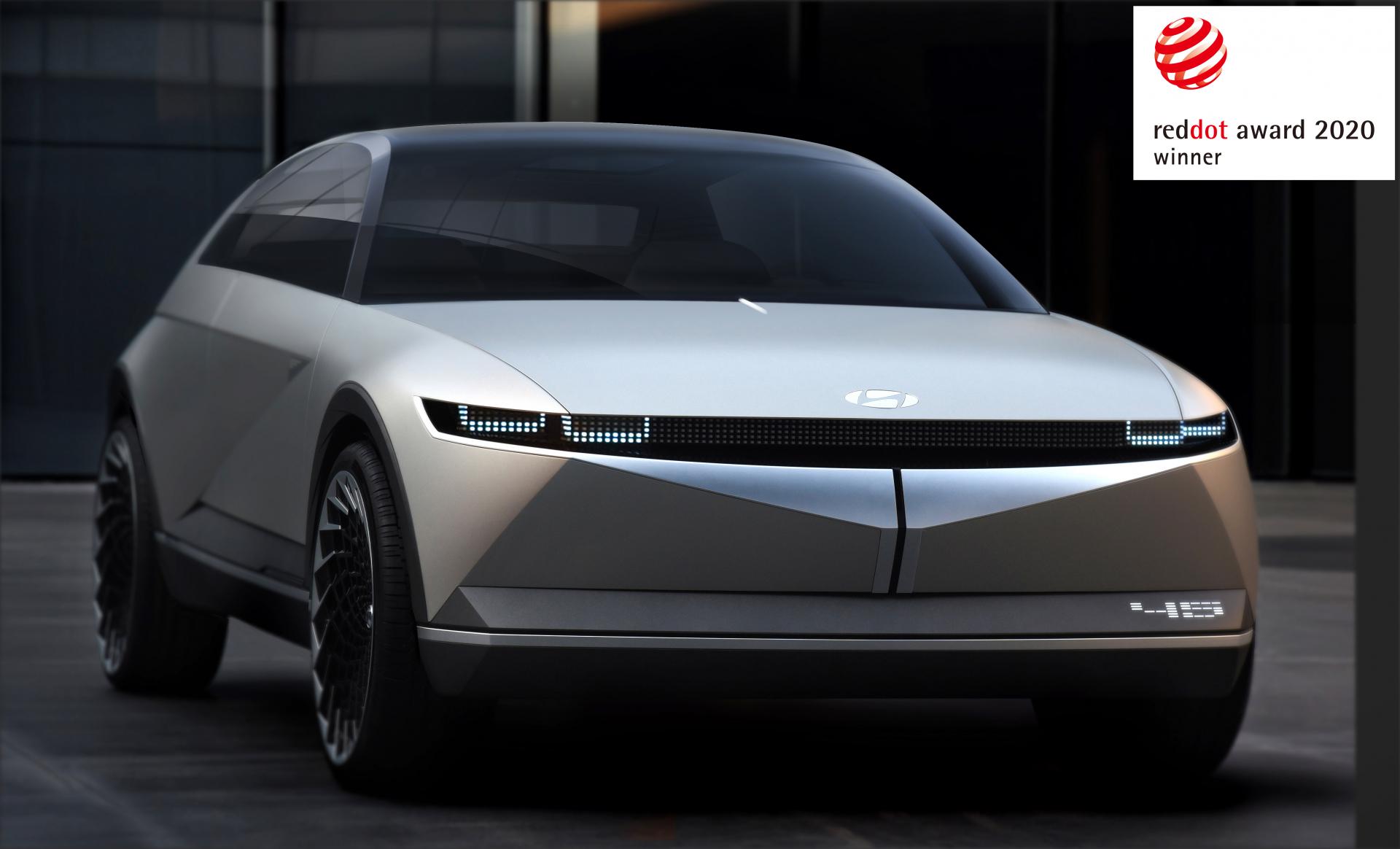 Компанія Hyundai Motor отримала три нагороди Red Dot Award 2020 за концептуальний дизайн | Богдан-Авто Запорожье - фото 9